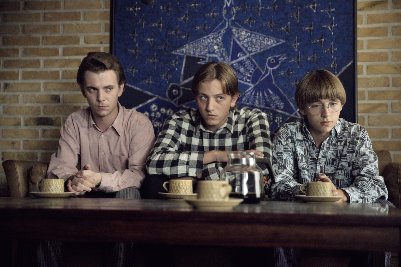 Mads Langelund, Clint Ruben og Marcus Sebastian Gert. Credit: Martin Dam Kristensen