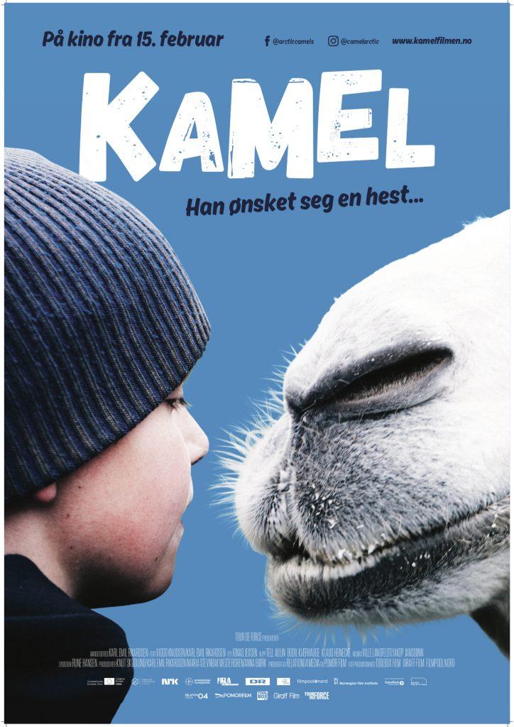 De Aktiske Kameler Plakat