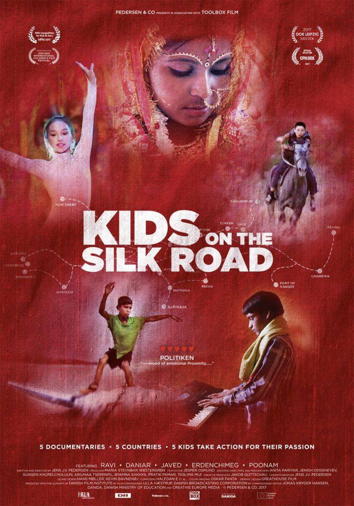Børnene på Silkevejen Plakat