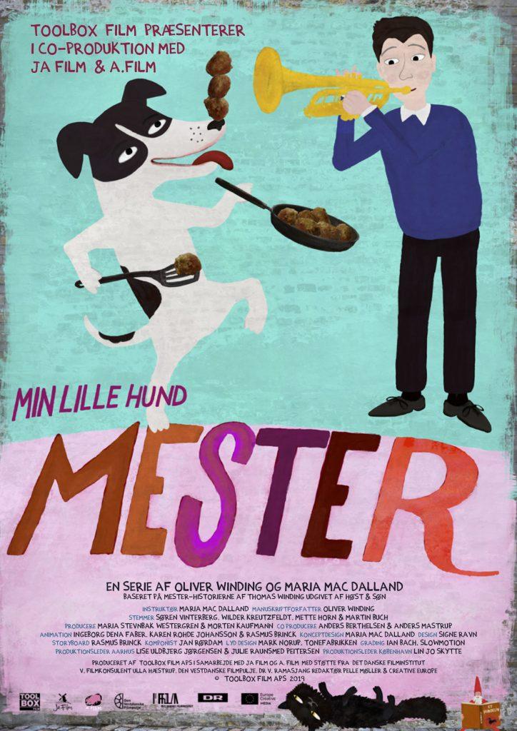 Min lille hund Mester Plakat