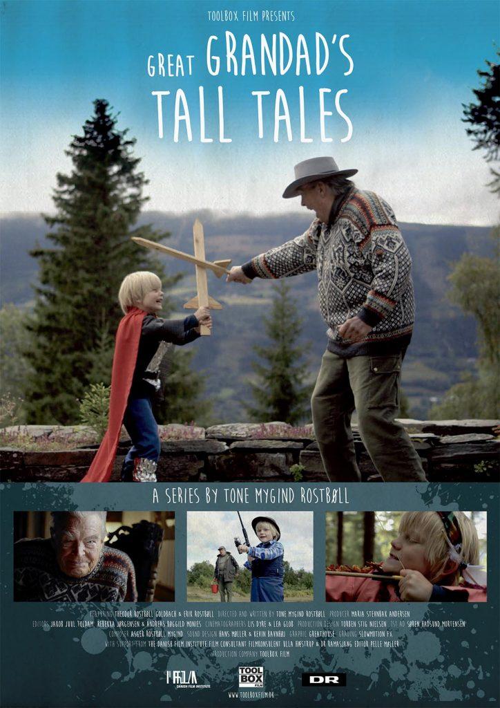 Great Grandad's Tall Tales plakat